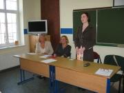 Spotkanie w Kaszubskim Liceum Ogólnokształcącym w Strzepczu 17.04.2009 r. pt.