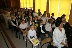 Uroczystość 20 lecia nadania Szkole Podstawowej w Luzinie imienia Lecha Bądkowskiego